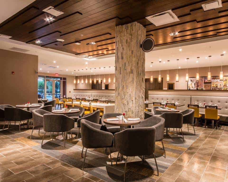 Custom Contract Restaurant Lighting 4
