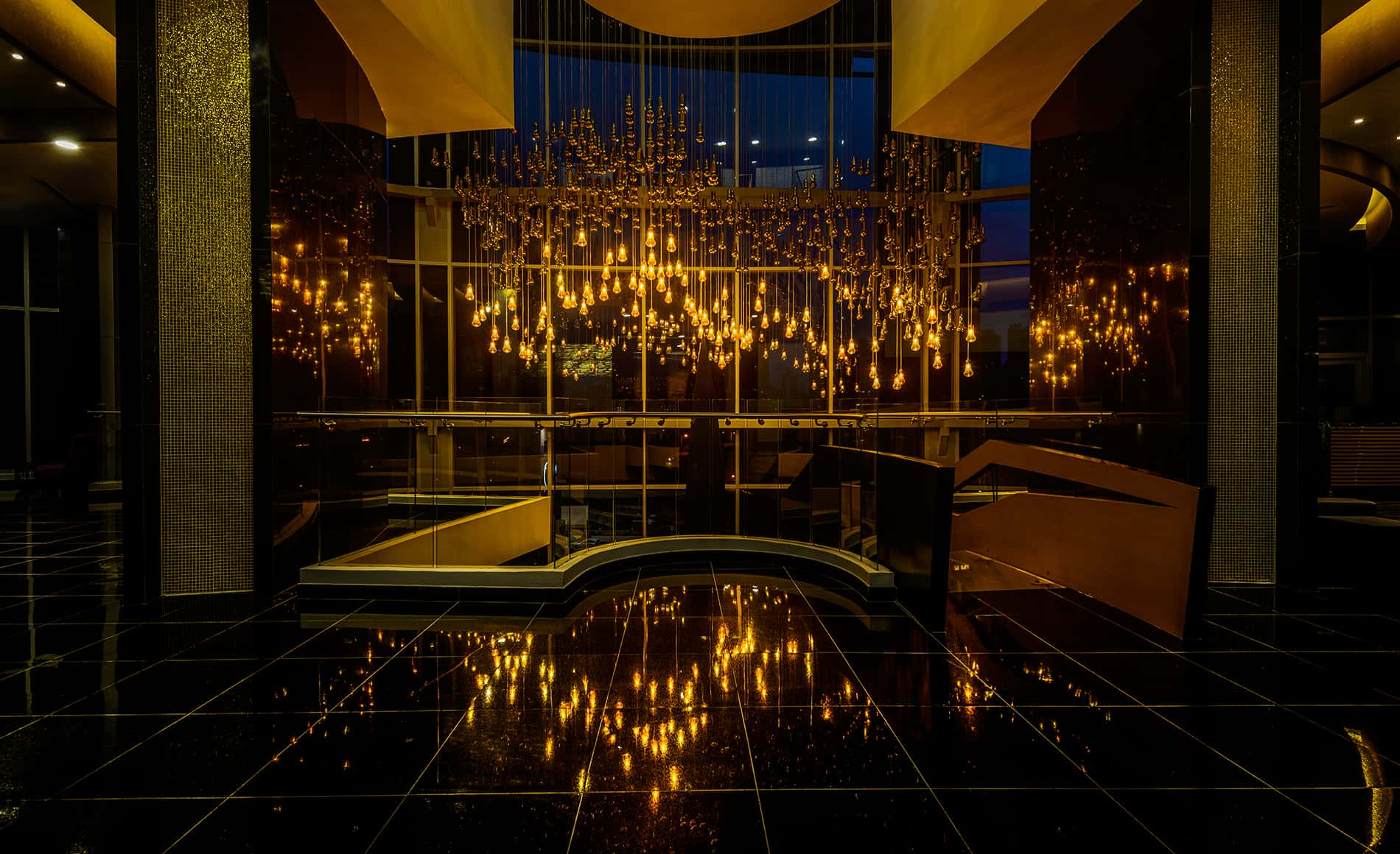 Custom Contract Hotel Lighting 8