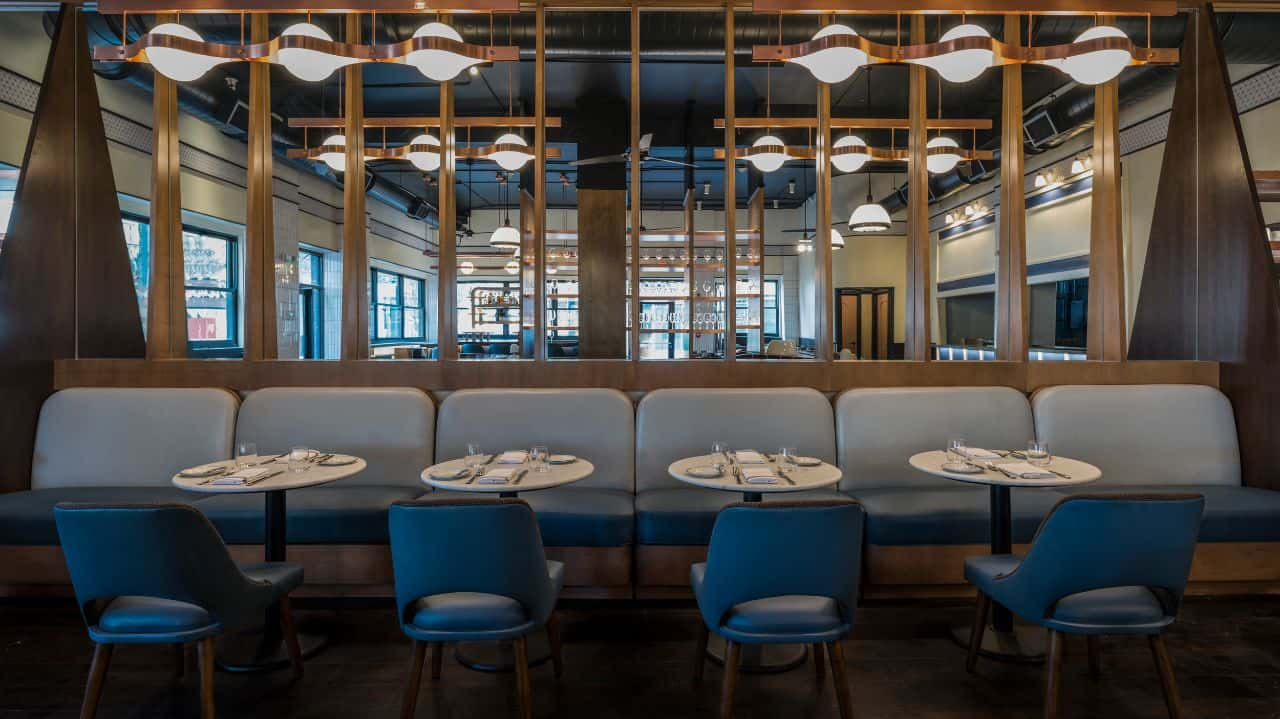 Custom Contract Restaurant Lighting 6